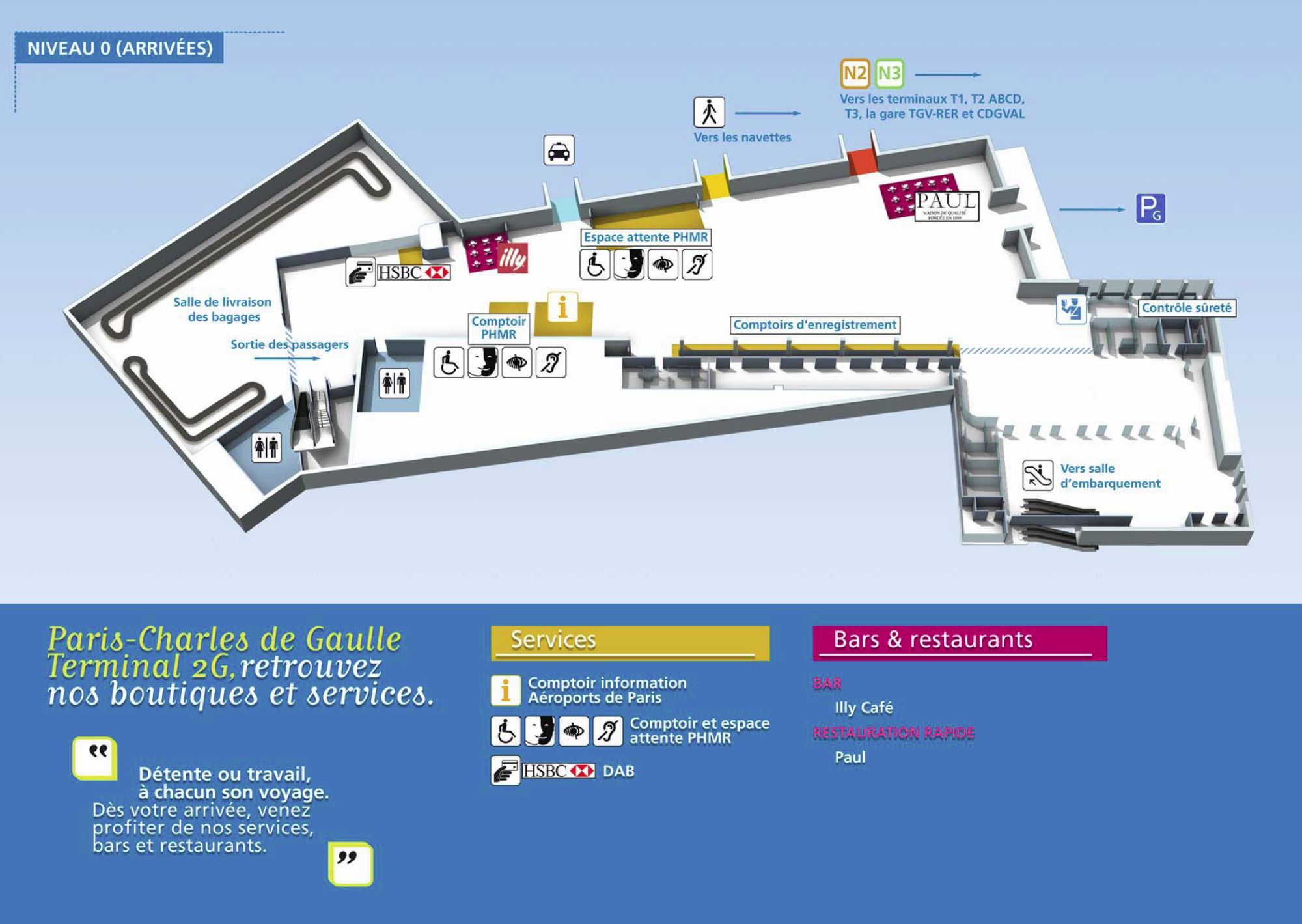 Charles de gaulle terminal 2g map arrival 236 kb